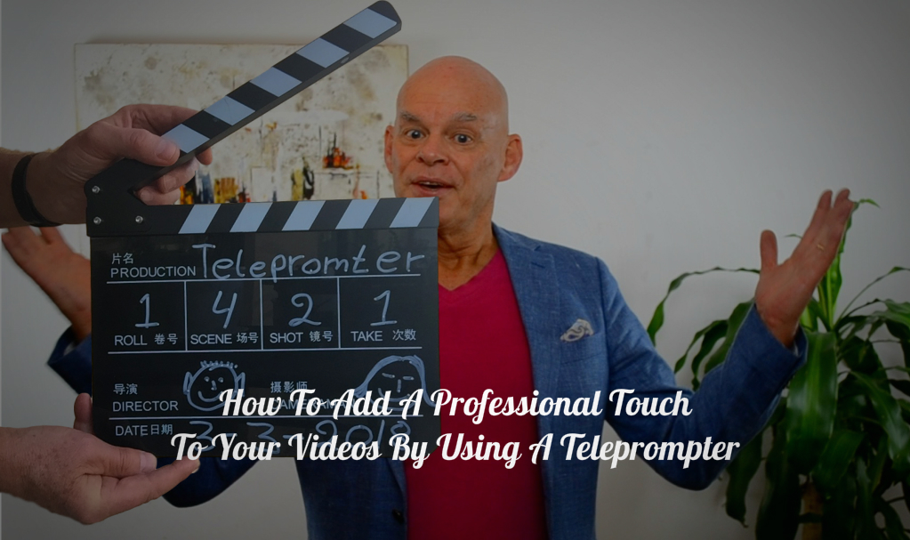 Using a teleprompter