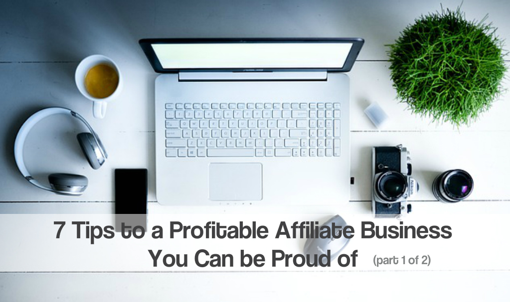 Profitable affiliate business