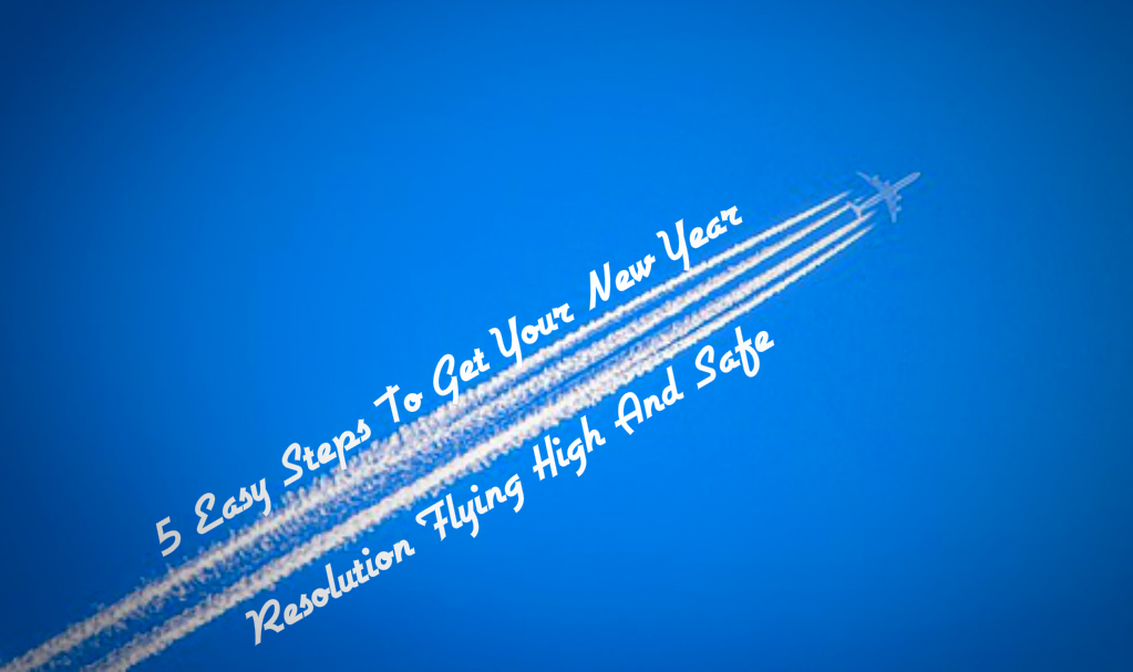 New year resolution flying high