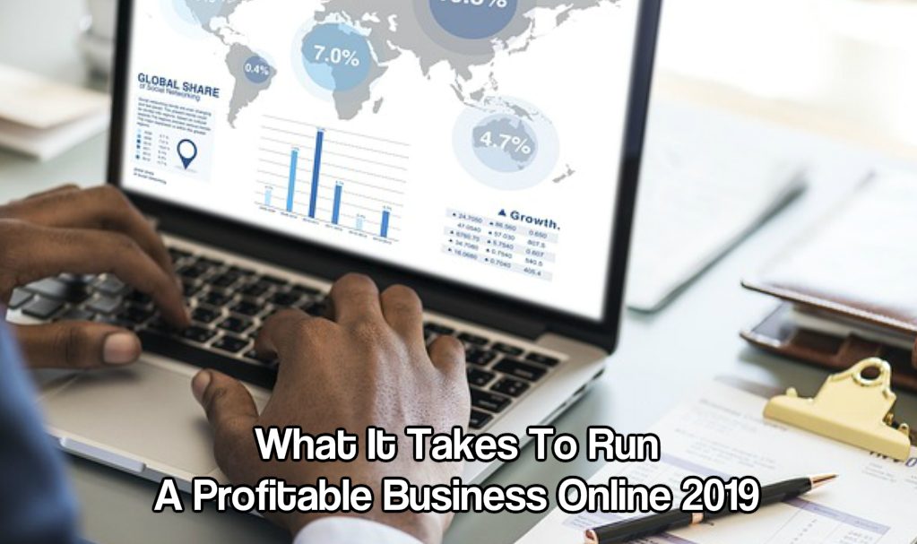 Run a profitable business online