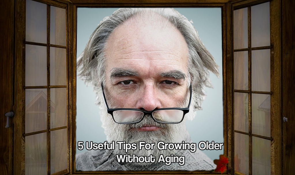 Growing older without aging