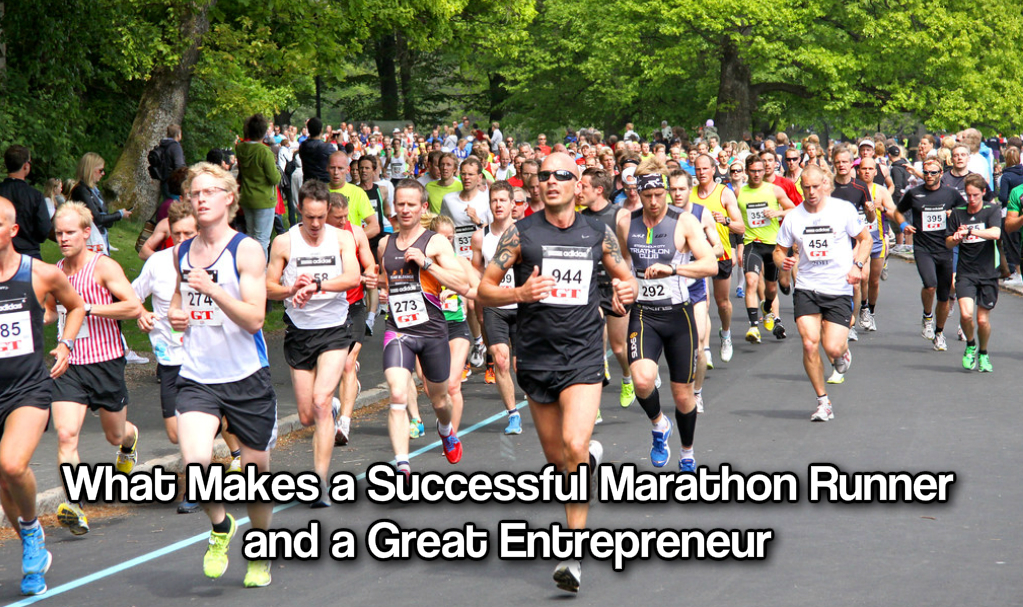 What Makes a Successful Marathon Runner and a Great Entrepreneur