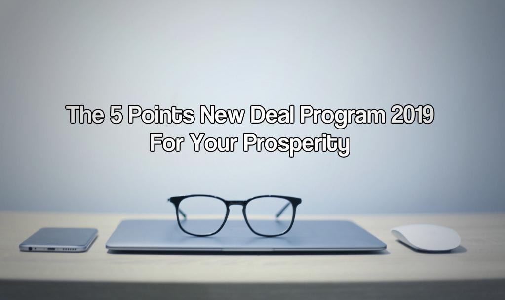 New deal program 2019