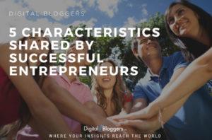Characteristics successful entrepreneurs