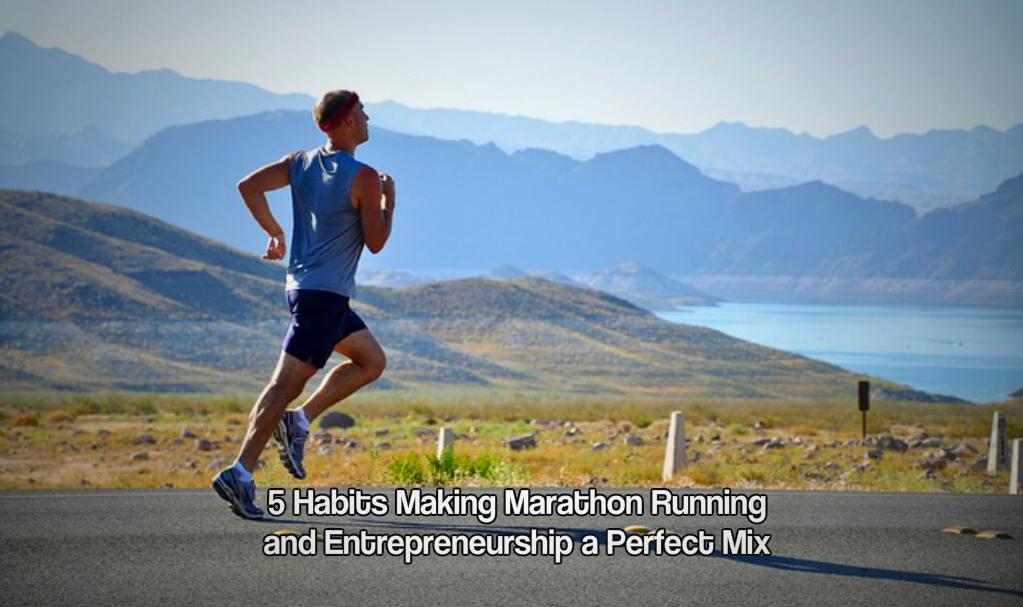 Marathon running and entrepreneurship