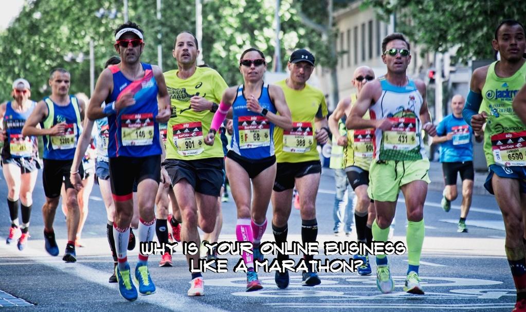 online business like a marathon